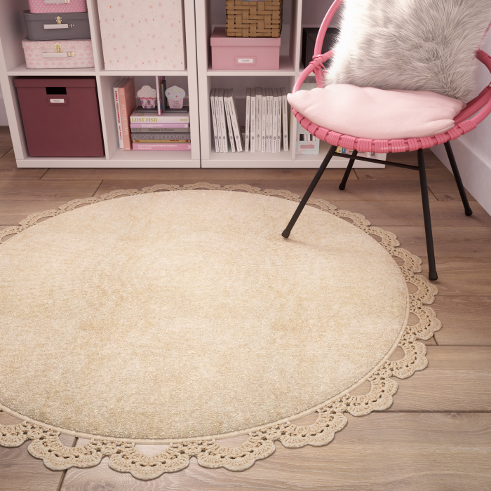 Tapis Rond Cocooning The Full Room