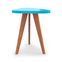 Table Triangle Bodo Bleu