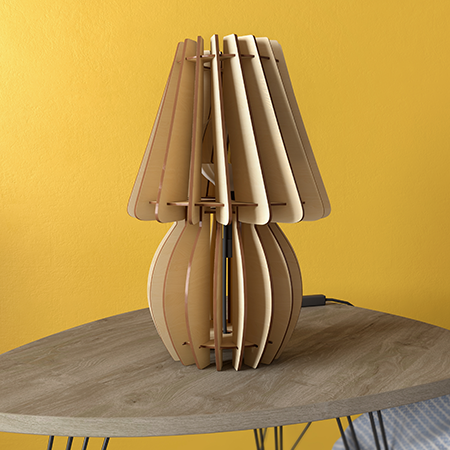 Lampe de Table Helice