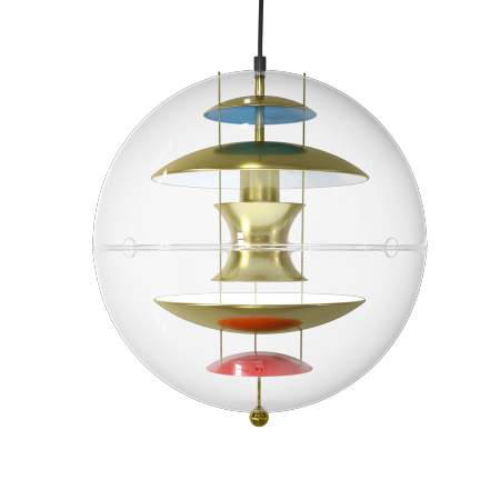 SUSPENSION GLOBE BRASS VERPAN