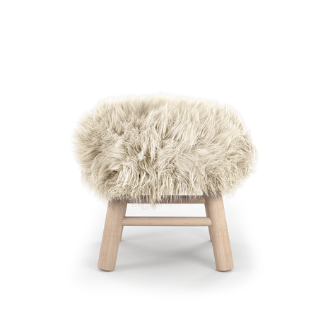 Tabouret Stool Moumoute Small poils courts