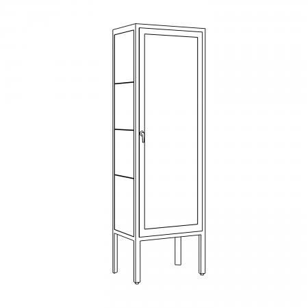 Armoire Fisher