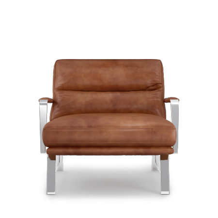 Fauteuil AM LOUNGY CUIR
