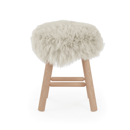Tabouret Stool Moumoute Medium poils courts