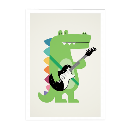 Art-Poster Croco Rock - Andy Westface