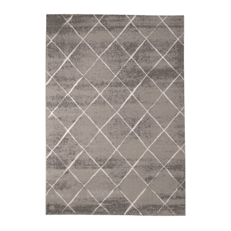 Tapis de salon Gris Losanges Oeko-tex