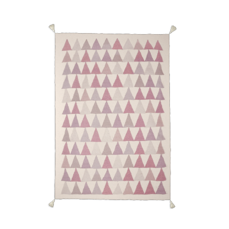 Tapis rose -TRIANGLE-