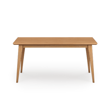 Table Teck Naturel avec 2 allonges