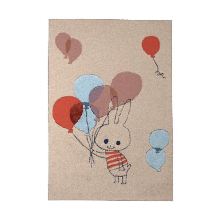 Tapis -BALLOON RABBIT-