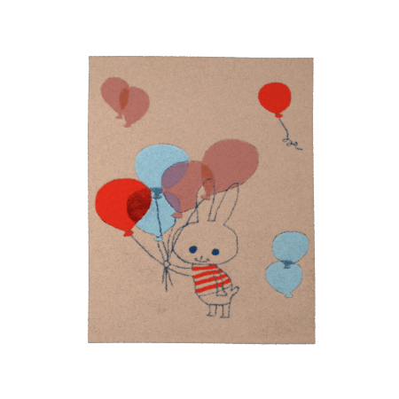 TAPIS BALLON RABBIT