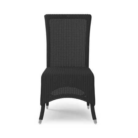 Chaise Lloyd Loom noir