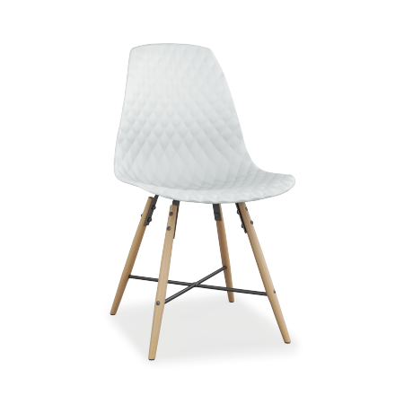 LOT DE 2 CHAISES VIGA