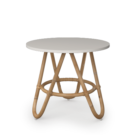 TABLE BASSE EN ROTIN DIABOLO