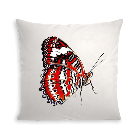 COUSSIN RED BUTTERFLY