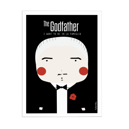 ART-POSTER THE GODFATHER NINASILLA