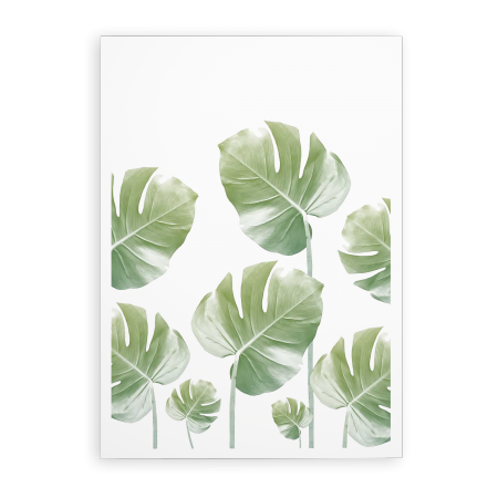 ART POSTER MONSTERA RISING
