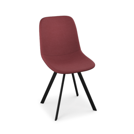 LOT DE 2 CHAISES CARL