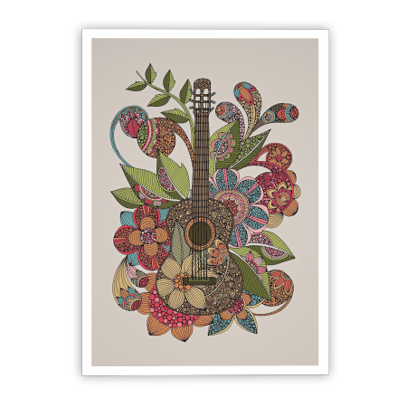 ART POSTER EVER GUITAR