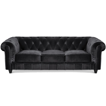 Grand canapé Chesterfield